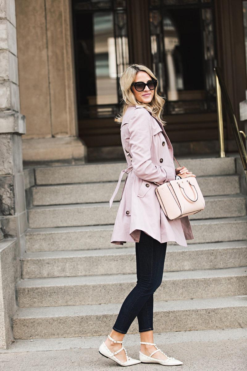asos-pink-trench-coat