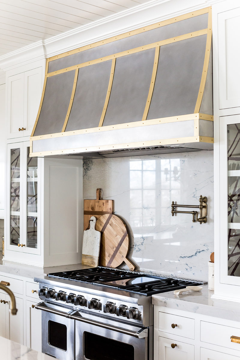 Chimney Hoods For Kitchens ~ Home tour kitchen reveal ivory lane