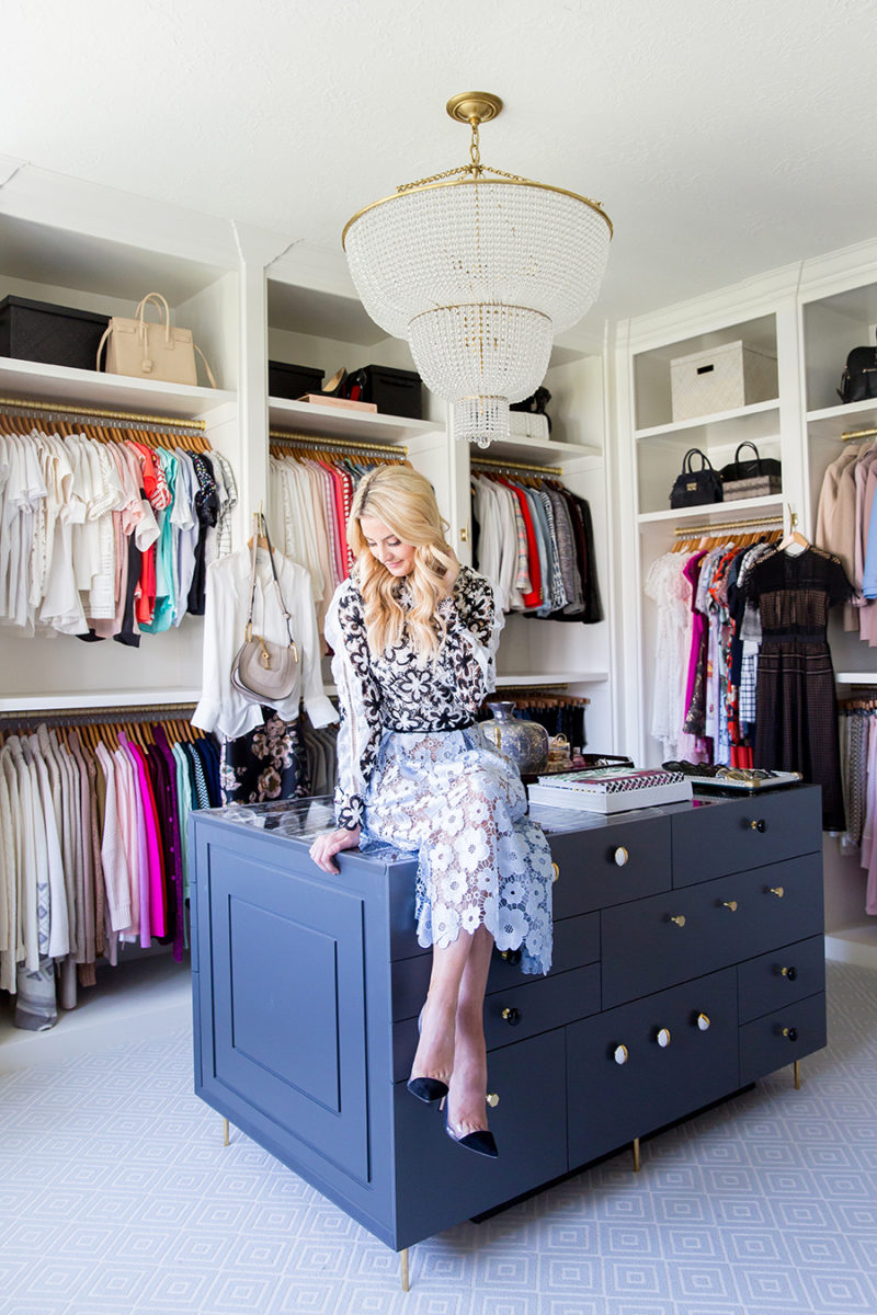 Closet Reveal Ivory Lane