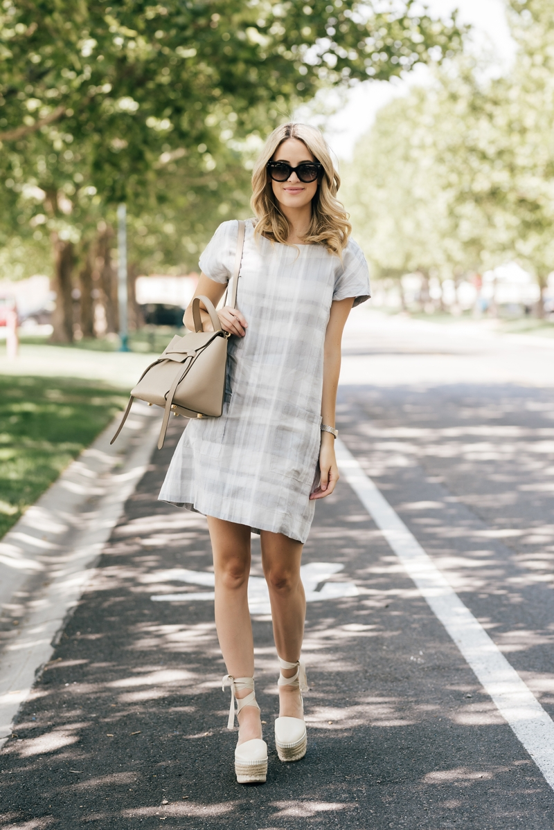 Summer Plaid Ivory Lane