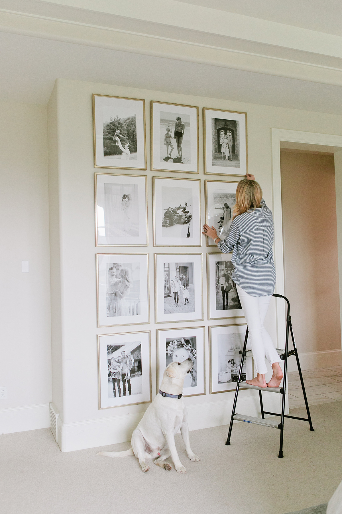 5 Simple Gallery Wall Ideas: 12 Days Of Giveaways: Day 5 With Framebridge