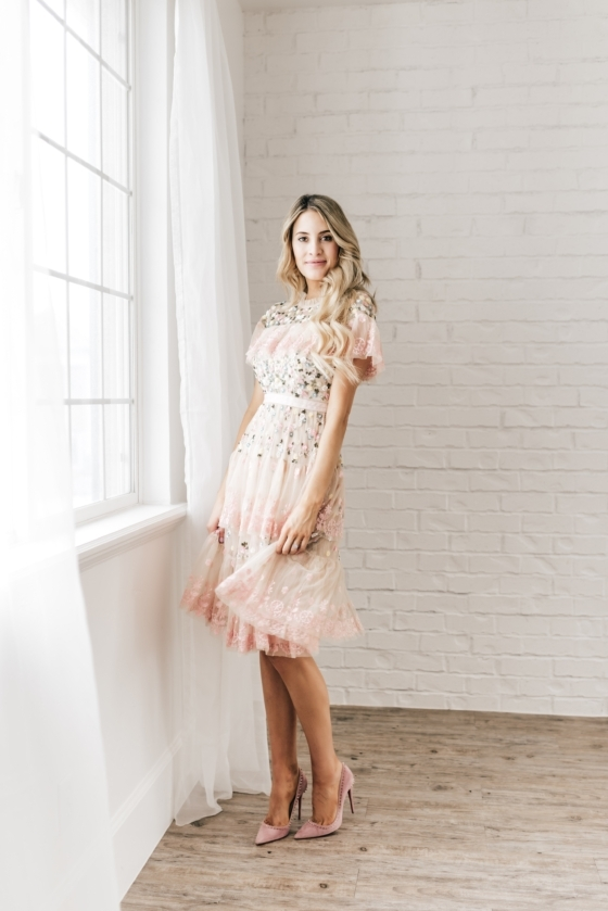 Ruffles & Sequins in Spring