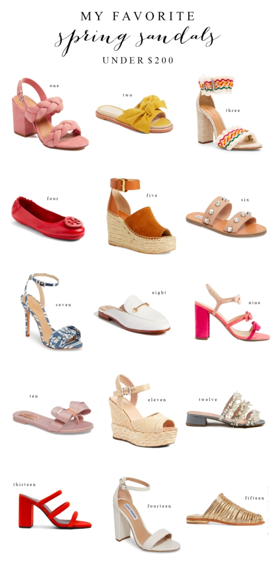 Spring Shoes (under $200)