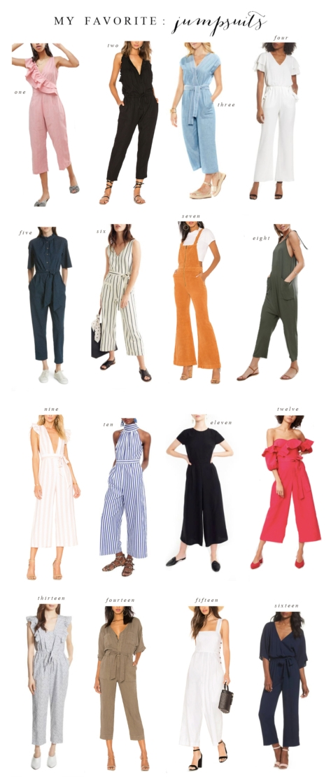 Jumpsuit Round-Up