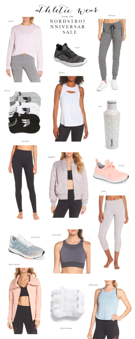 My Favorite Athletic Wear: Nordstrom Anniversary Sale