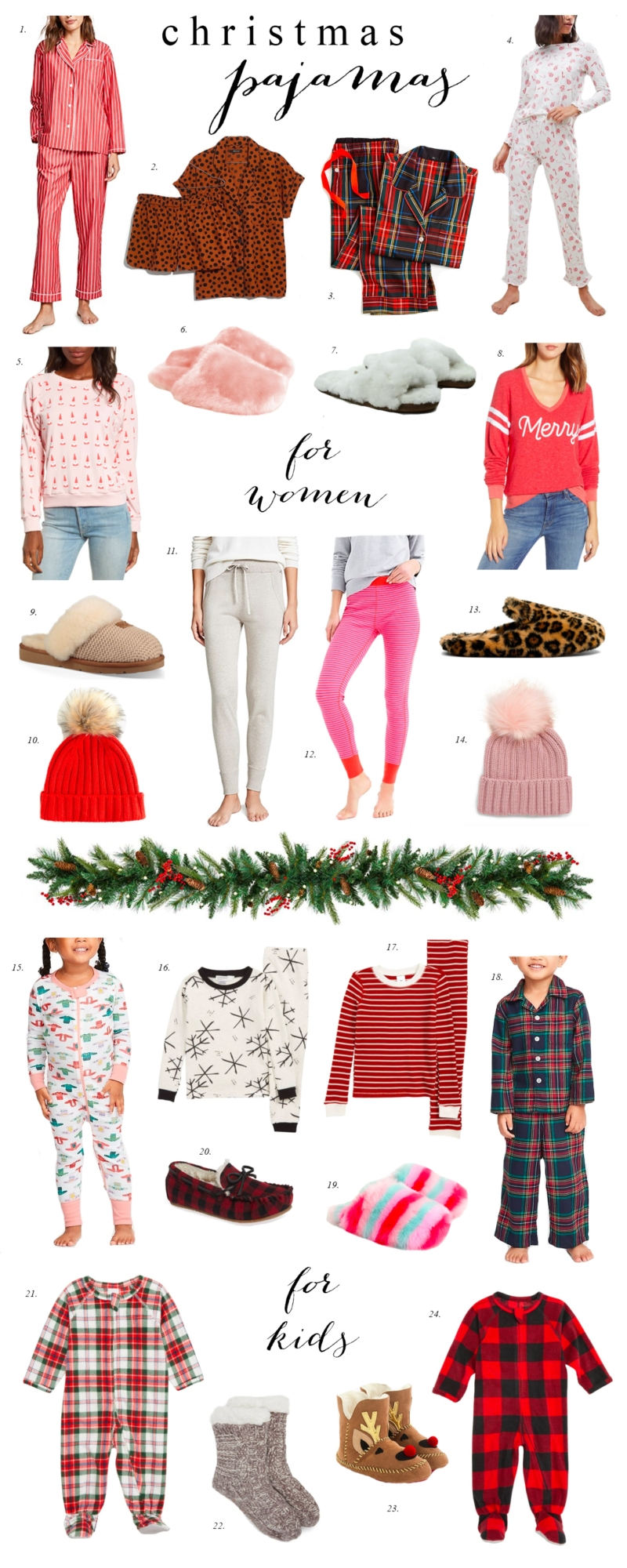 The Best Options for Christmas Pajamas – Ivory Lane